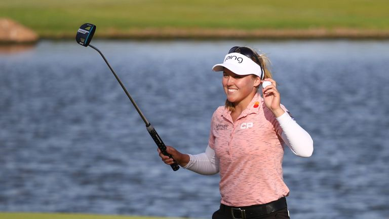 Henderson posted rounds of 65, 68, 69 and 70 during her four rounds