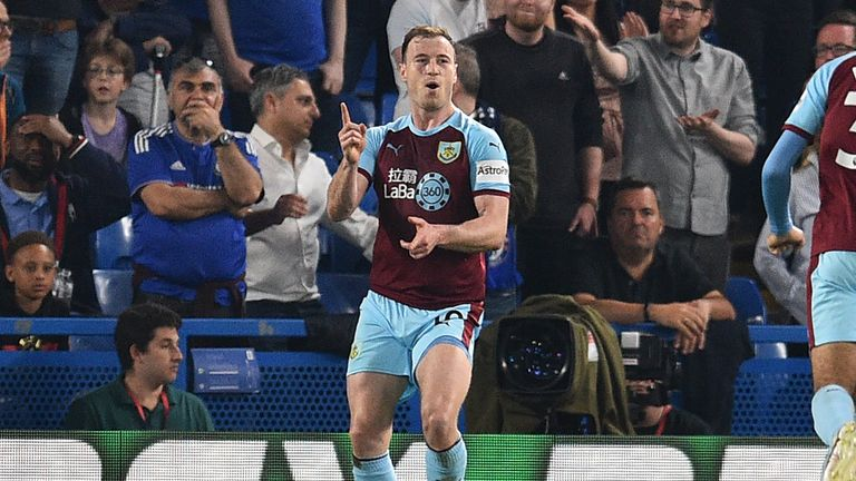 Ashley Barnes was essential in securing four points for Burnley in August