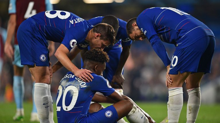 Hudson-Odoi was injured in April as his season came to a premature end