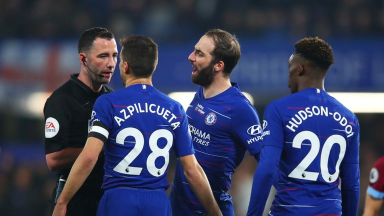 Chelsea have not received a red card in 72 games in all competitions