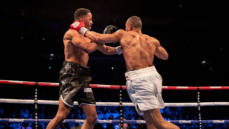 Eubank Jr beat DeGale on points at The O2 in February