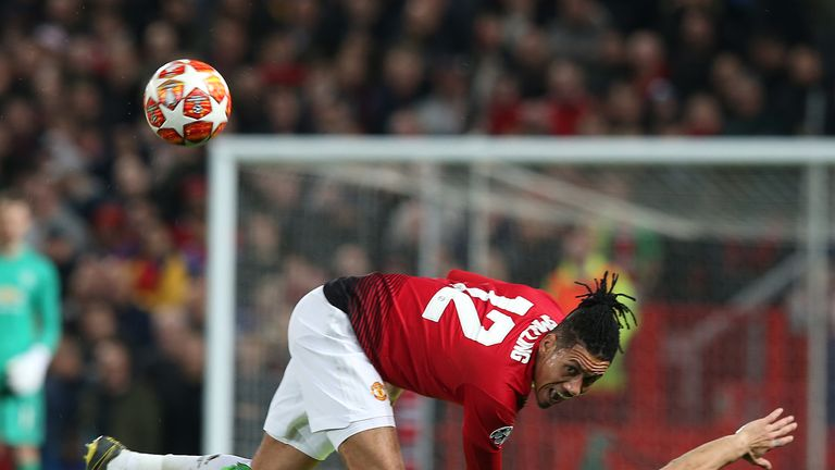 Chris Smalling put in a solid showing