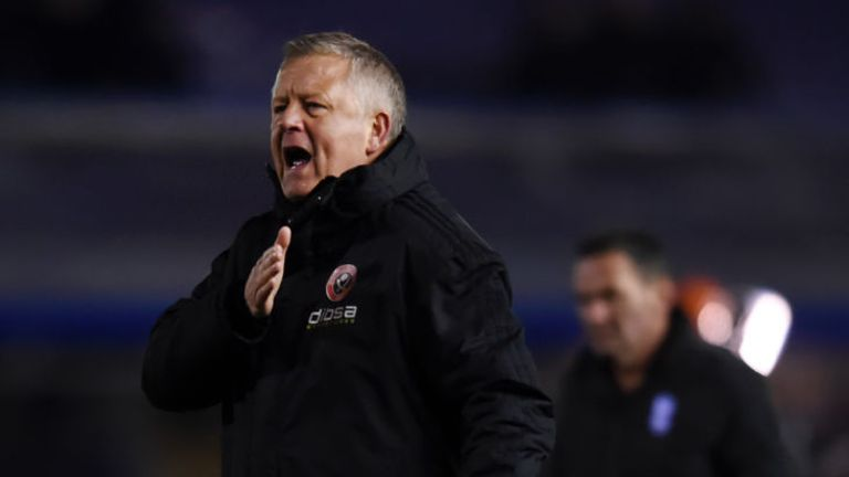 Chris Wilder believes four wins out of four in the remaining games will be enough to confirm promotion