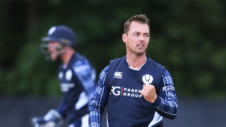Con de Lange was part of the Scotland side that beat Zimbabwe in 2017