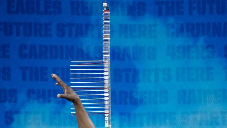Corey Ballentine was chosen as New York Giants' sixth draft pick