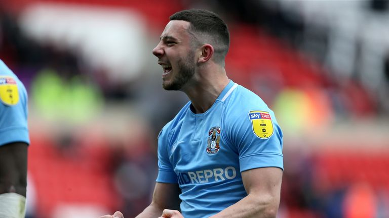 Coventry City's Conor Chaplin scored the winner at Sunderland