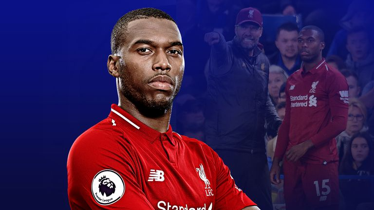 Daniel Sturridge has started just two Premier League games for Liverpool this season