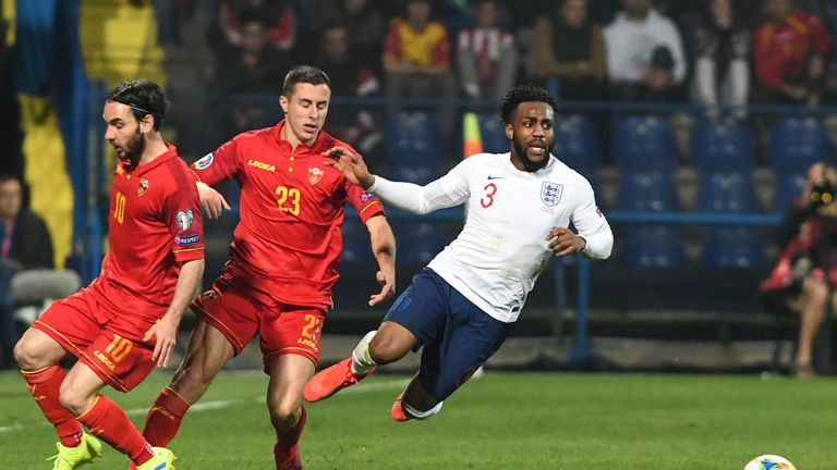 Tottenham defender Danny Rose was targeted by racist fans in Montenegro