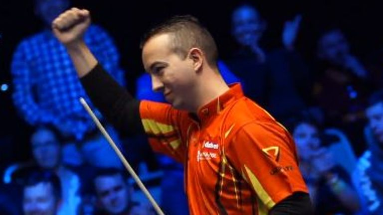 Spain's David Alcaide is the reigning World Pool Masters champion
