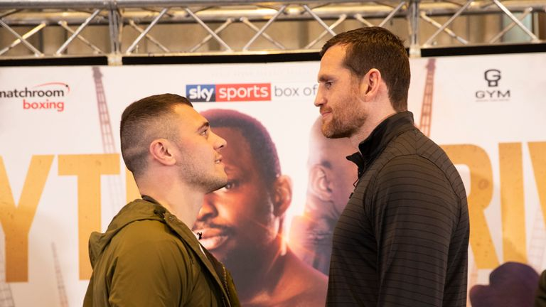 David Allen and David Price size each other up ahead of their summer showdown