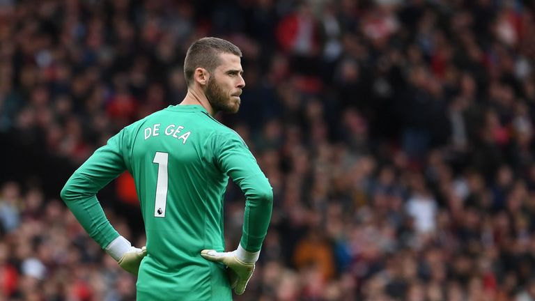 David de Gea is yet to agree new terms with United despite protracted talks