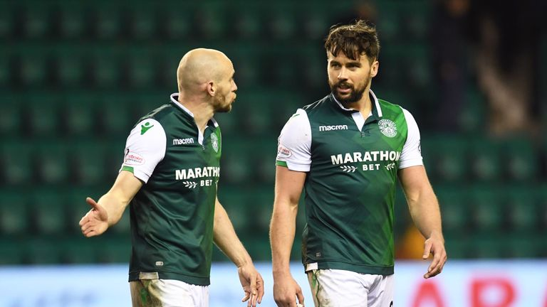 David Gray (left) and Darren McGregor have committed their futures to Hibernian