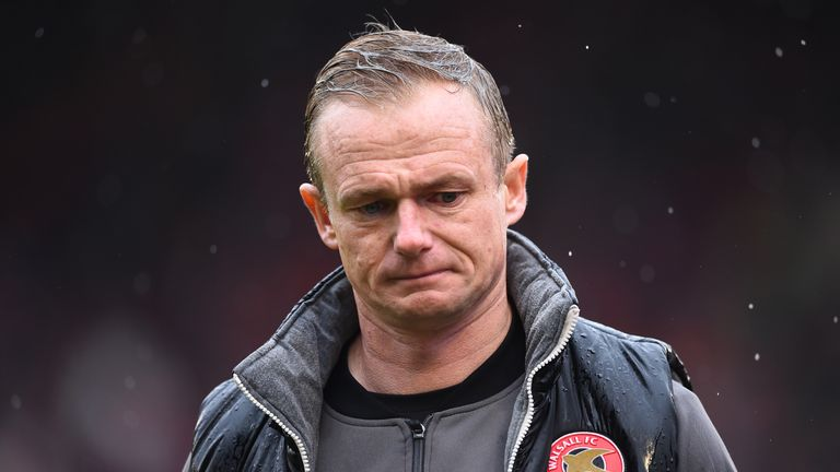 Keates' Walsall had lost five games in a row prior to his dismissal