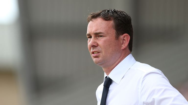 Derek Adams was appointed as Plymouth Argyle boss in June 2015