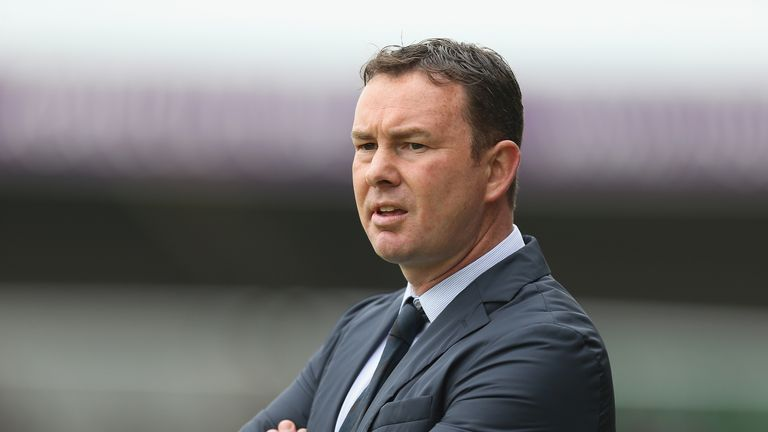 Derek Adams has been sacked after eight matches without a win at Plymouth