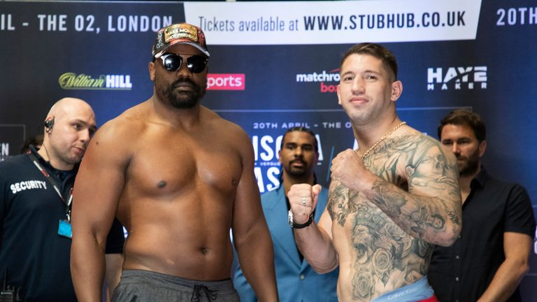 Derek Chisora is facing a must-win fight with Senad Gashi