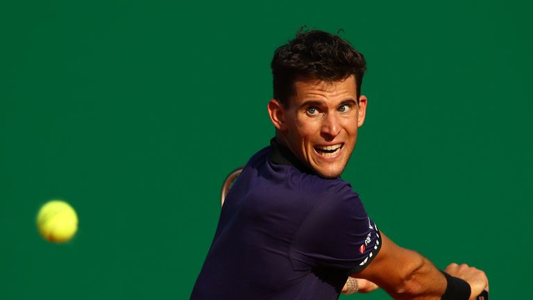 Dominic Thiem was the only player to beat Nadal on clay last season