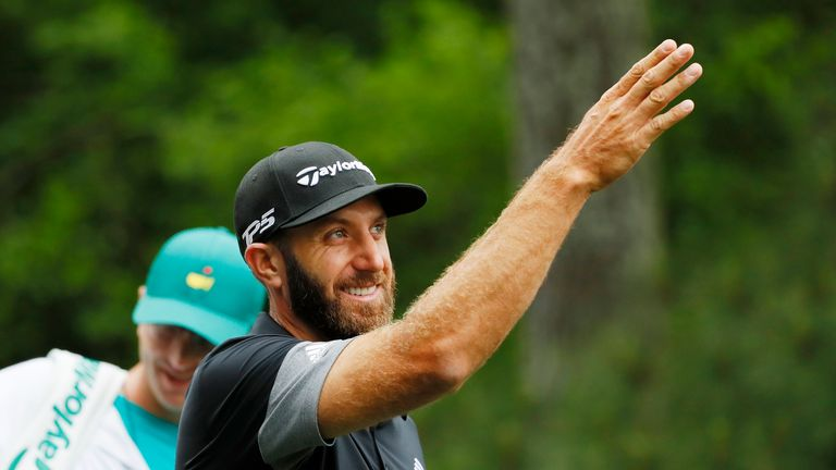 Dustin Johnson is back at world No 1 after the Masters