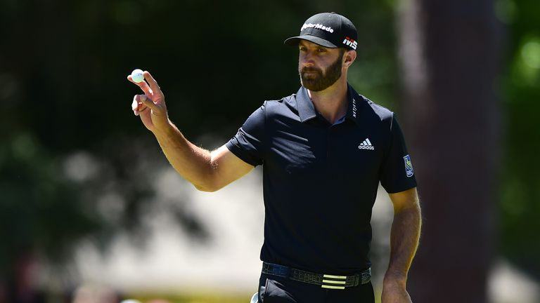 Dustin Johnson drops seven shots in five holes at RBC Heritage