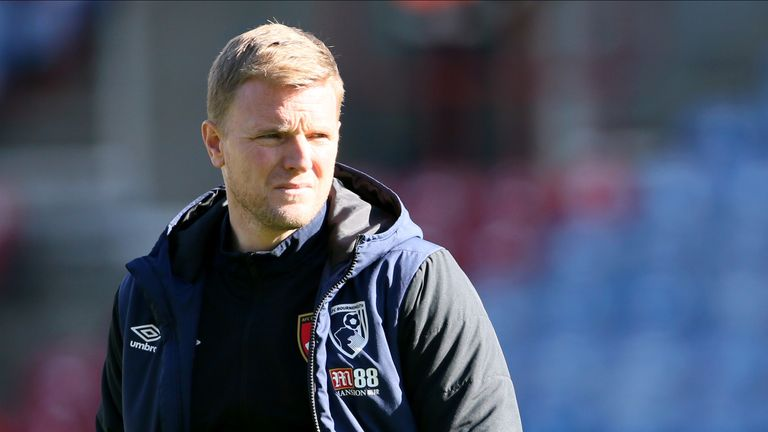 Eddie Howe is looking to guide his side to only their second win in ten matches against Brighton