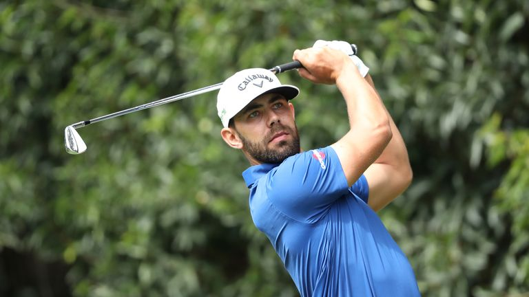 Erik Van Rooyen holds the 54-hole lead in Morocco