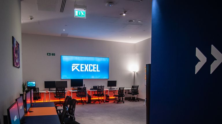 Excel Esports' brand new training facility (credit: Excel)