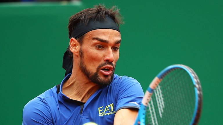 Fabio Fognini underwent surgery on both ankles on Saturday