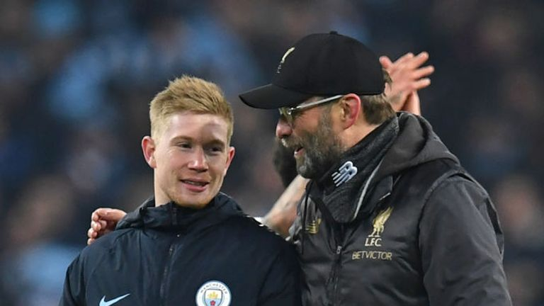 Jurgen Klopp wanted to sign De Bruyne while he was Borussia Dortmund manager