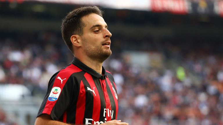 Giacomo Bonaventura has not played since October after undergoing a knee operation