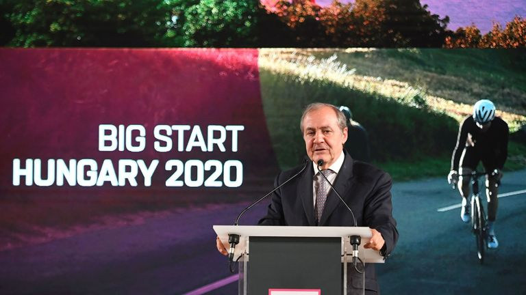 The Giro d'Italia 2020 will start in Budapest in Hungary