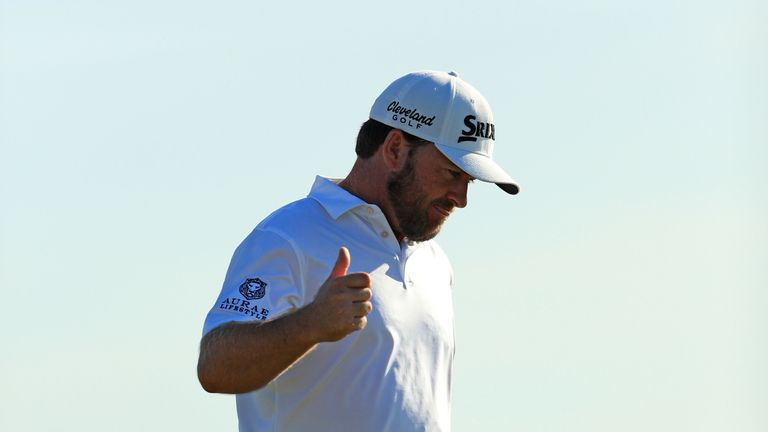 McDowell was disappointed at missing out on birdie at 17