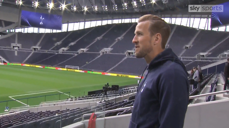 Kane is looking forward to welcoming Spurs' London rivals to the new ground