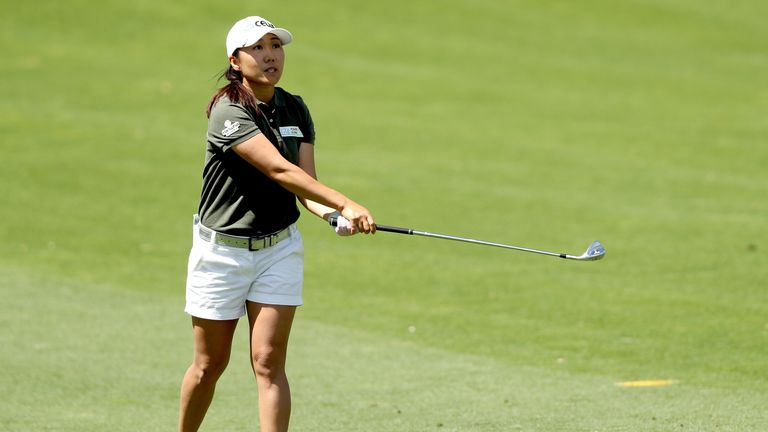 Kim In-kyung takes clubhouse lead at ANA with eight birdies