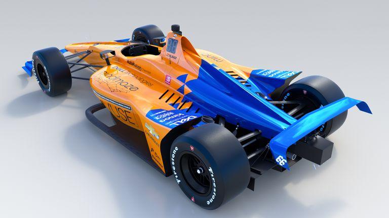 McLaren unveil Alonso's Indy 500 car