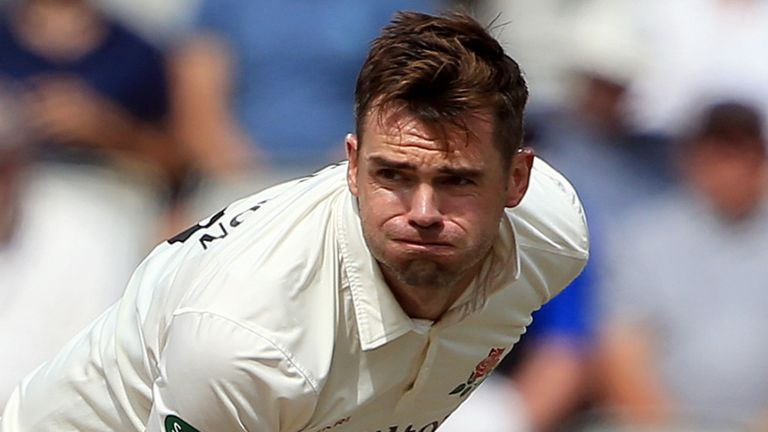 James Anderson is a doubt for the upcoming Ashes series against Australia
