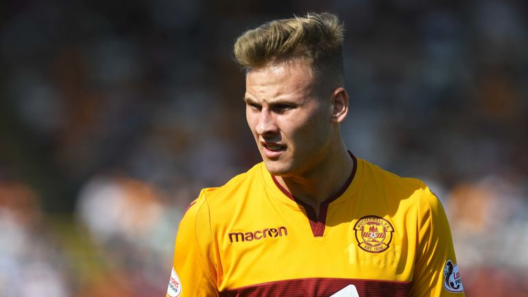 James Scott is one of a number of young Motherwell players who have impressed when breaking into the first team this season