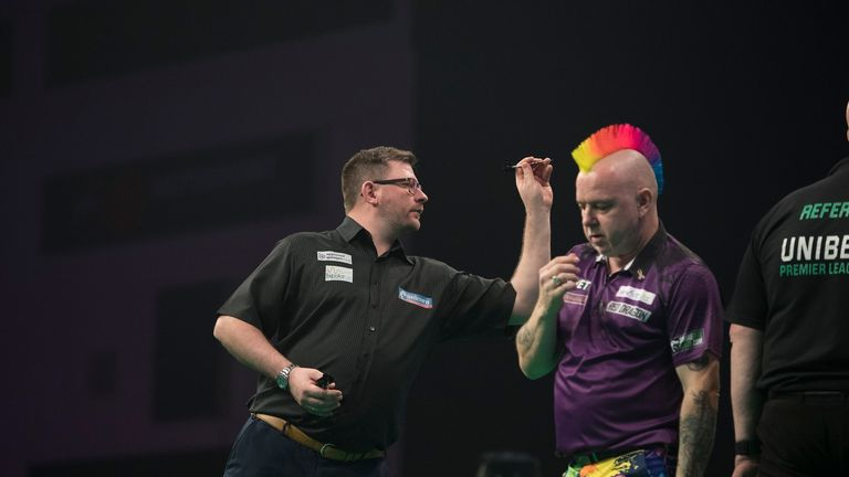 Wade was too strong for a disappointing Peter Wright in Cardiff