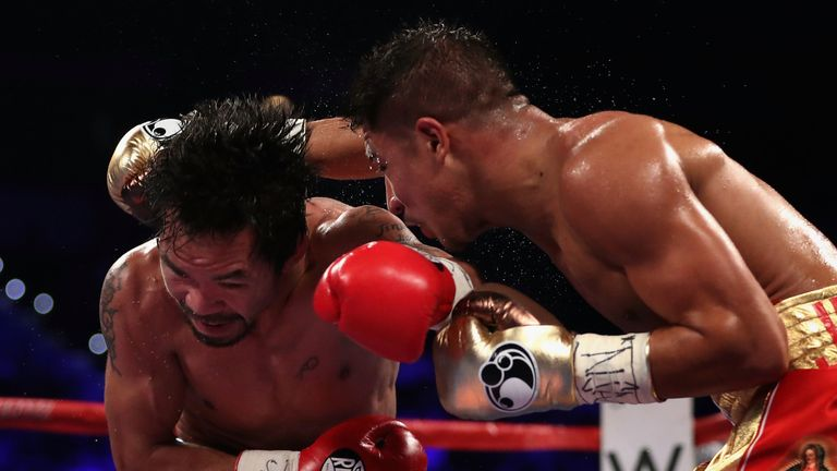 Vargas took Pacquiao the distance in 2016