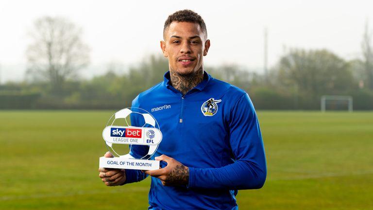 Jonson Clarke-Harris won the League One award