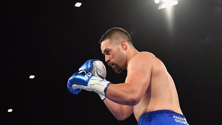 Joseph Parker is receptive to returning to the UK