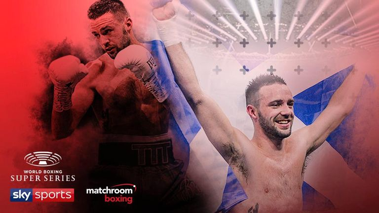 Josh Taylor battles IBF champion Ivan Baranchyk in the World Boxing Super Series semi-finals