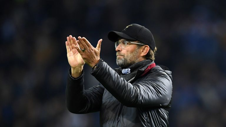 Liverpool are yet to win a trophy under Jurgen Klopp