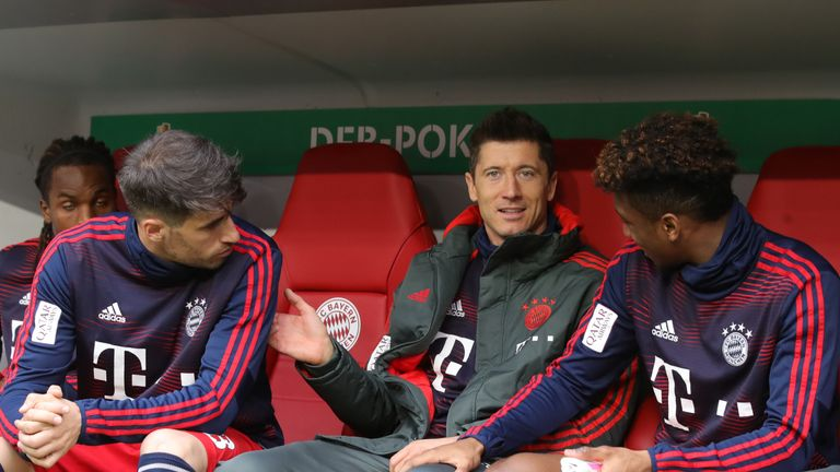Robert Lewandowski and Kingsley Coman reportedly came to blows in training