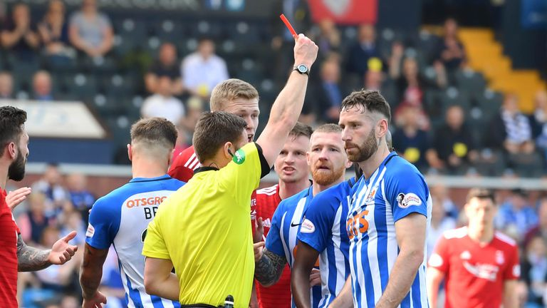 Kirk Broadfoot's appeal against his red card was rejected by the Scottish FA this week and is suspended alongside Stuart Findlay, but Rory McKenzie's red card has been reduced to a yellow following a successful appeal