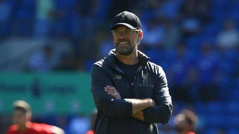 Jurgen Klopp says Liverpool must focus on themselves during the final few weeks of the season