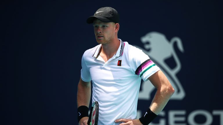 Kyle Edmund exited to Jo-Wilfried Tsonga in Morocco