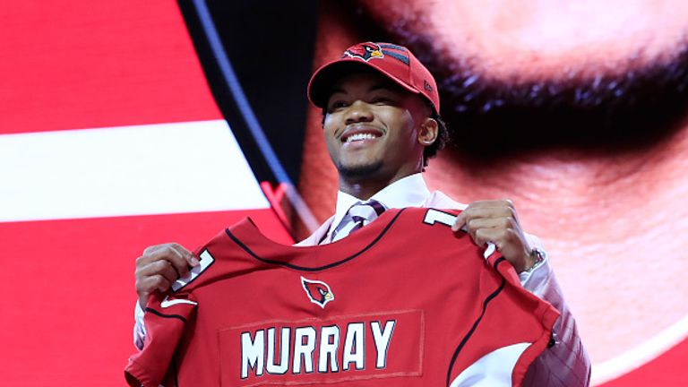 Kyler Murray was the first pick of the 2019 NFL Draft- he'll be playing football for Arizona Cardinals