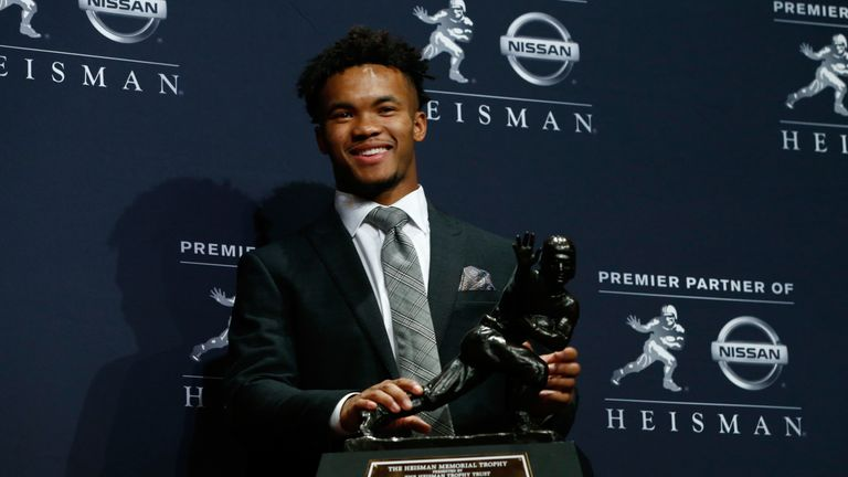 Murray won the Heisman Trophy as college football's best player in his only year as a starter