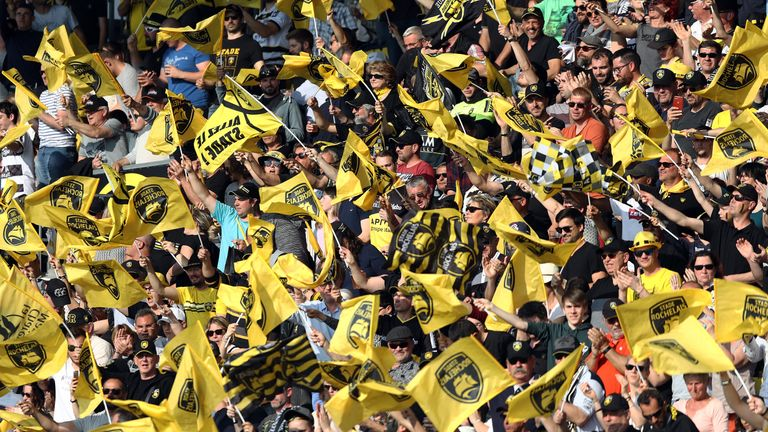 La Rochelle will take a strong contingent with them to Newcastle next month
