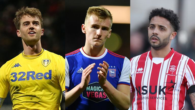 It's a big weekend for Leeds, Ipswich and Lincoln (left to right)